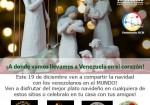 #NavidadVenezolana en Barcelona